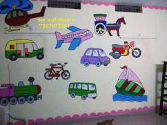 wall Decoration ideas for play school in Hyderabad