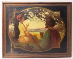 Painting in Antique design available