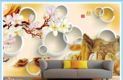 3D wallpapers for  living room in Hyderabad
