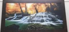 WATERFALL PAINTING FOR LIVING ROOM