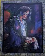michael jackson portrait painting