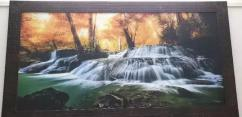 New WATERFALL PAINTING FOR LIVING ROOM 3 FEET 5 FEET