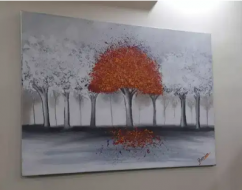 Fantastic and enchanting 3D acrylic canvas painting with gracious look