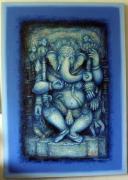 Very attractive Lord Ganeshas in varieties on display
