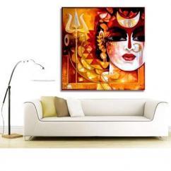 Devotional wall art Lord Shiva Canvas Painting