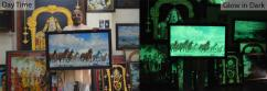 Glow paintings (GLow in Dark) for sale