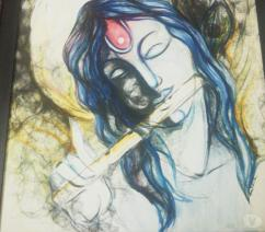 The Lord Krishna, Painting for sale
