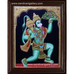 Hanuman Tanjore Painting