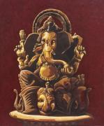 Spellbinding Ganesha Indian Paintings