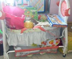 Cot For Lil Baby With Swinger