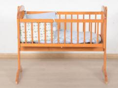 Wooden Cot For Little Baby