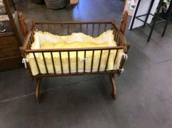 Wooden Cradle In Less Used Condition Available