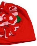 Beanie Cap for Babies Available In Red Colour