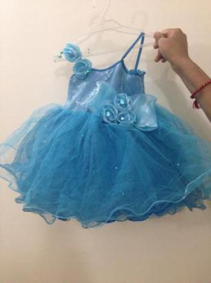 Blue Party Dress For Sale