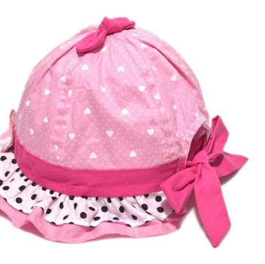 Cotton Cap  In Pink Colour