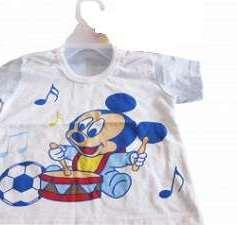 T-shirt with Mickey Mouse Print