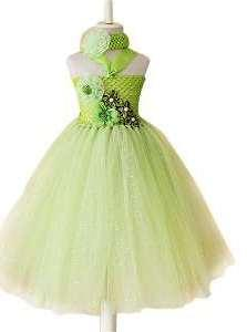 Light Green Coloured Designer Frock Available For Baby Girl