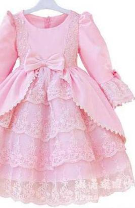Pink Coloured Lovely Frock Available For Baby Girl