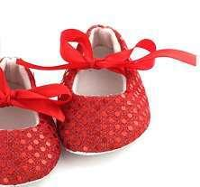 Partywear Fancy Footwear For Baby Girl Available