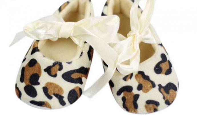 Animal Print Baby Girl Shoes