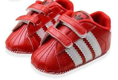 Red Coloured Shoes For Children