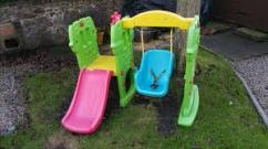 Swing And Slide For Little Baby Available