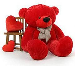 Red In Colour Soft Toys Available