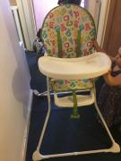 High chair In Very Excellent Condition