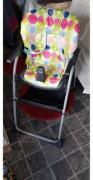 High chair in rarely used Condition