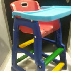 High Chair in colorful pattetn
