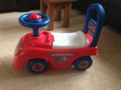 Car Toy in red color