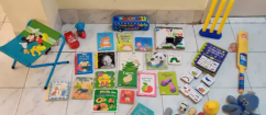 Kids books and toys for sale