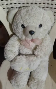 teddy bear soft toy /puf toy almost new