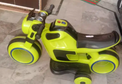 Baby motor cycle with charger