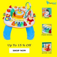 Multifunctional Activity Table for Kids  Learning toy