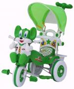 Baby Tricycle Parental Green