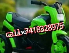 Kids green imported sports bike