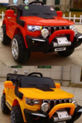 Red and orange jeeps for kids for sale