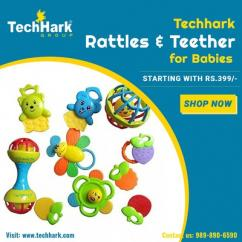Techhark Rattles and Teether for Kids