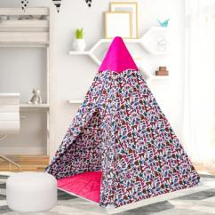 Pink Playhouse Tent for Girls