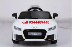 White audi TT RS car for kids