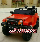 Kids electric jeep cars bikes at LOWEST prices