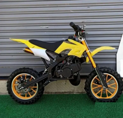 Dirt Bike 50cc For Kids 6 Colors available 2 Stroke Petrol Engine