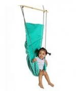 Kids hanging swing