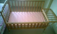 Rarely Used Wooden Cot