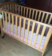 Wooden Cot For Lill Baby