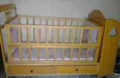 Wooden Cot For Lill Baby In Great Condition