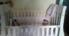 Used Cot For Lill Baby