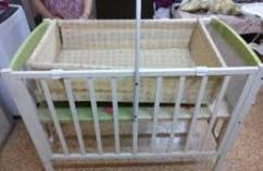 Wooden Cot In Superb Condition