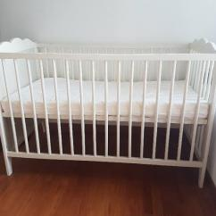 Wooden Cot In Fantastic Condition Available